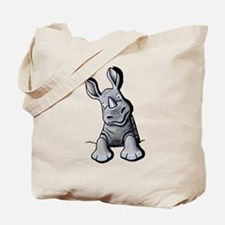 Pocket Rhino Tote Bag