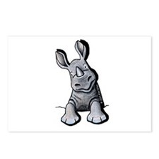 Pocket Rhino Postcards (Package of 8)