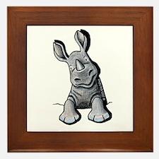 Pocket Rhino Framed Tile
