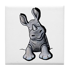 Pocket Rhino Tile Coaster