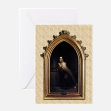 St Teresa of Avila Gothic Greeting Card