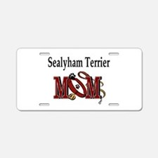 Sealyham Terrier Aluminum License Plate