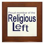 Proud member of the religious Framed Tile