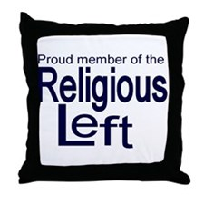 Proud member of the religious Throw Pillow