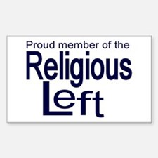 Proud member of the religious Sticker (Rectangular