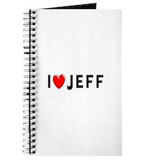 I Love Jeff Journal