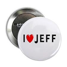 I Love Jeff Button