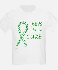 Green Paws Cure Kids T-Shirt