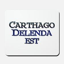 Carthago Delenda Est! Mousepad