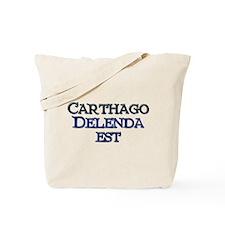 Carthago Delenda Est! Tote Bag