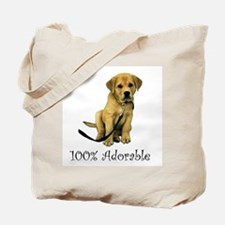 100% Adorable Tote Bag