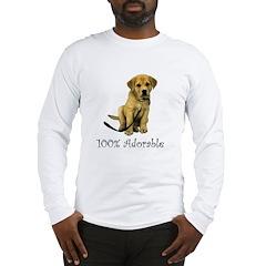 100% Adorable Long Sleeve T-Shirt