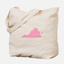 Virginia - Pink Tote Bag