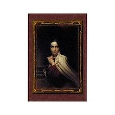 St Teresa of Avila Gothic Rectangle Magnet