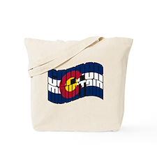 Copper Mountain CO Flag Tote Bag