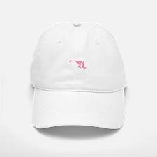 Maryland - Pink Baseball Baseball Cap