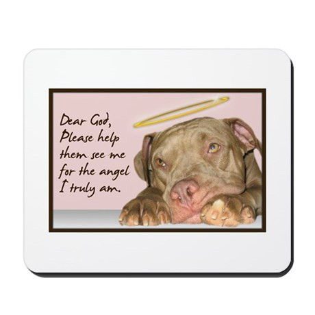 True Angel Mousepad