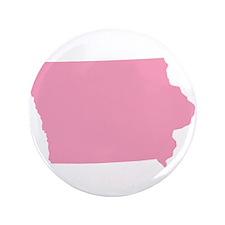 """Iowa - Pink 3.5"""" Button (100 pack)"""