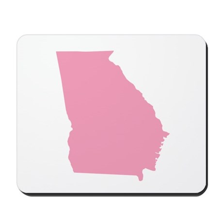 Georgia - Pink Mousepad