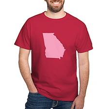 Georgia - Pink T-Shirt