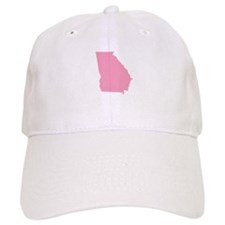 Georgia - Pink Baseball Cap