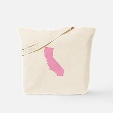 California - Pink Tote Bag