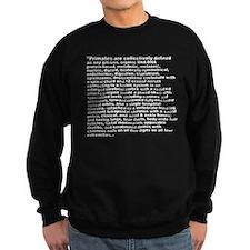 Aron's Sentence Sweatshirt