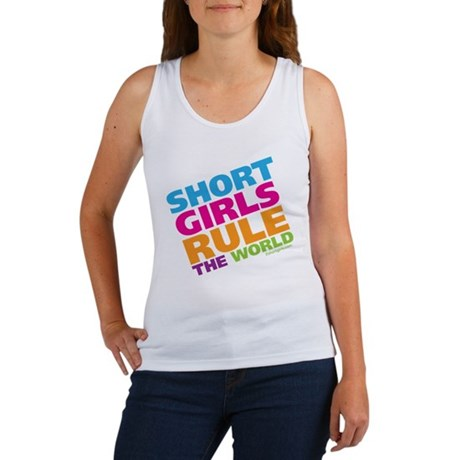 Short Girls Rule the World Women's Tank Top