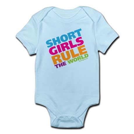 Short Girls Rule the World Infant Bodysuit
