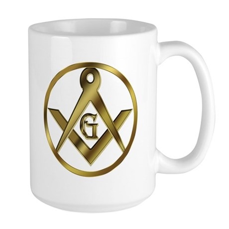 Masonic Golden Circle Large Mug