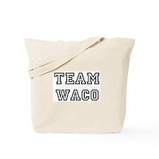 Team Waco Tote Bag