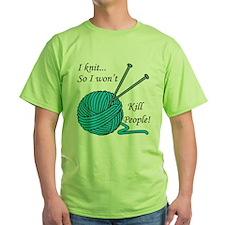 I knit Green T-Shirt