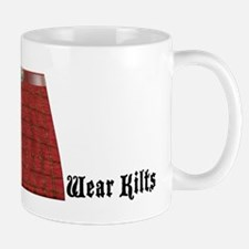 Masonic Real Men Wear Kilts Mug