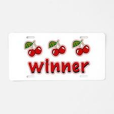 Winner Aluminum License Plate