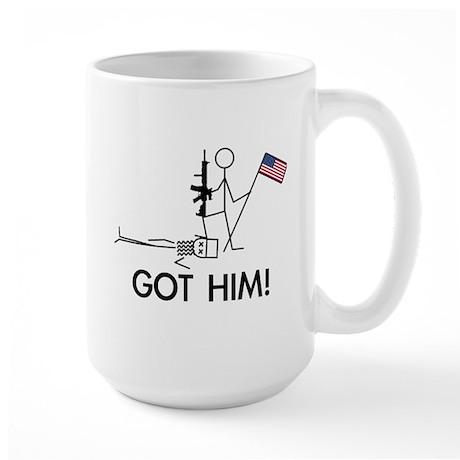Got Him! Large Mug