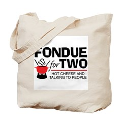 Fondue For Two Tote Bag