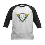 Skull Baseball Kids Baseball Jersey