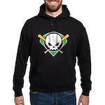 Skull Baseball Hoodie (dark)