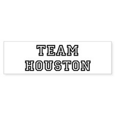 Team Houston Bumper Bumper Sticker