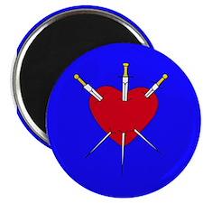 Pierced Heart Magnet