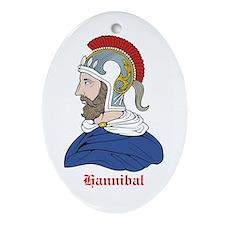 Hannibal Oval Ornament