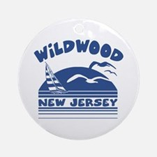 Wildwood New Jersey Ornament (Round)
