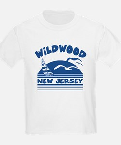 Wildwood New Jersey Kids T-Shirt