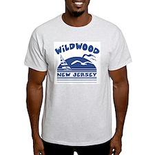 Wildwood New Jersey Ash Grey T-Shirt