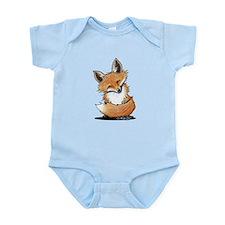 KiniArt Fox Infant Bodysuit