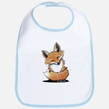 KiniArt Fox Bib