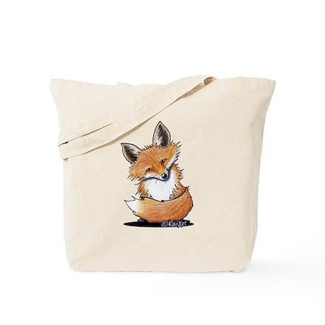 KiniArt Fox Tote Bag