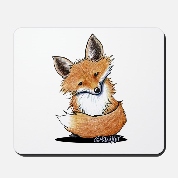 KiniArt Fox Mousepad