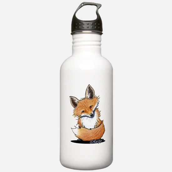 KiniArt Fox Water Bottle