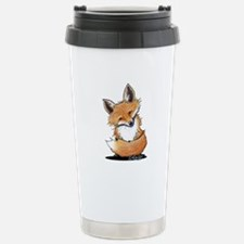 KiniArt Fox Travel Mug